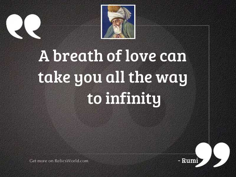 A Breath of love can