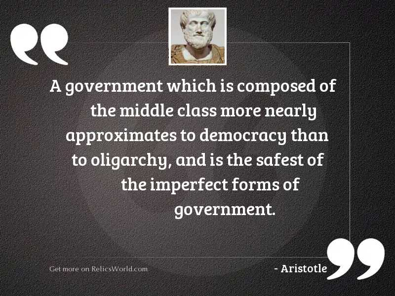 A government which is composed