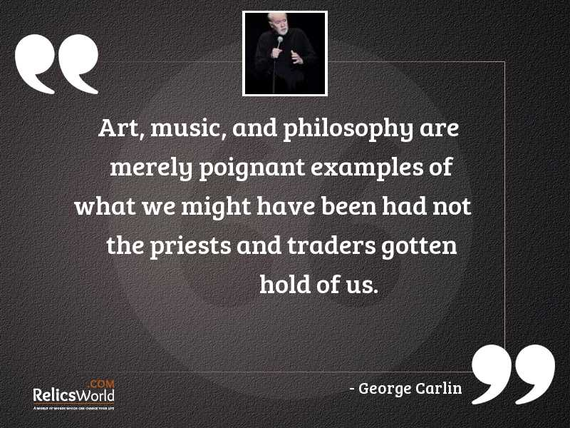 Art music and philosophy are