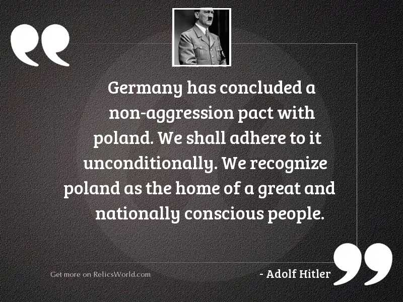 has concluded a non inspirational quote by adolf hitler