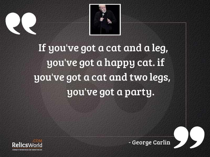 If youve got a cat