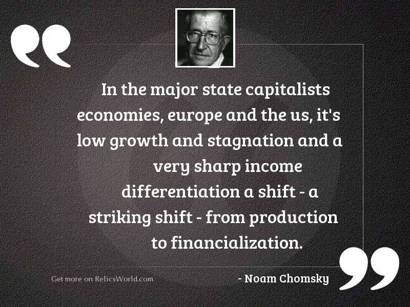 In the major state capitalists