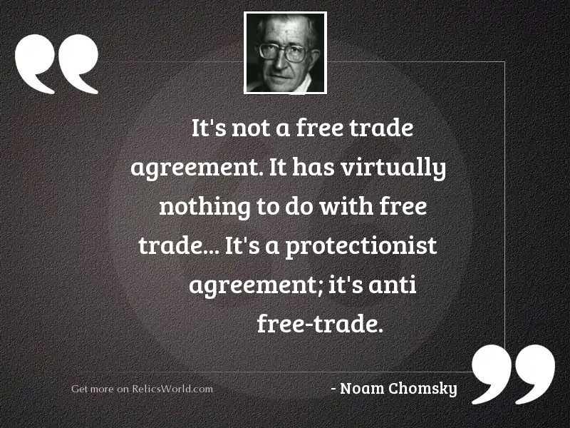 It's not a free