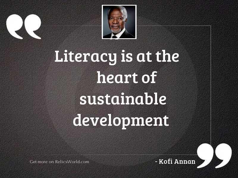 literacy is at the heart
