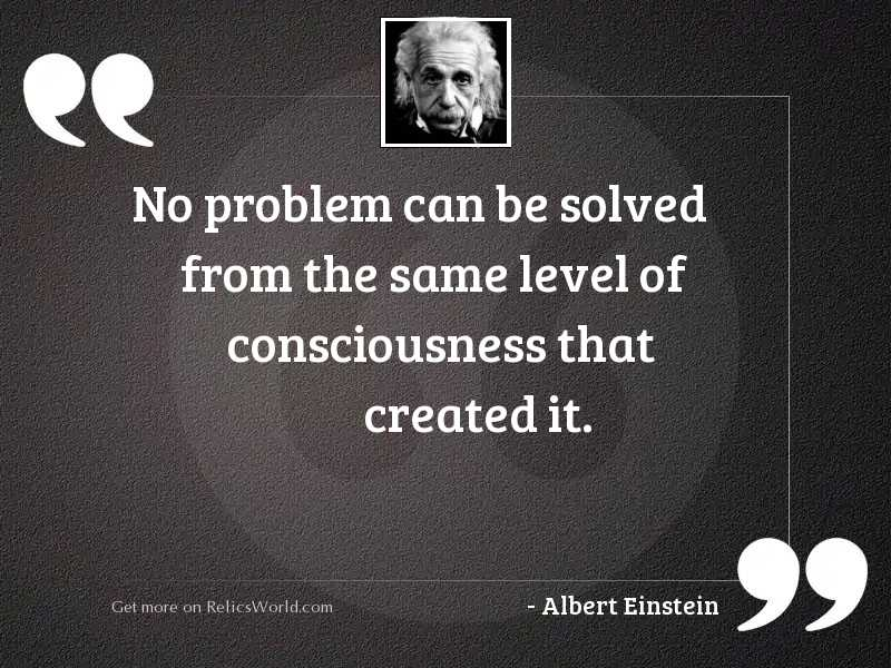 No problem can be solved