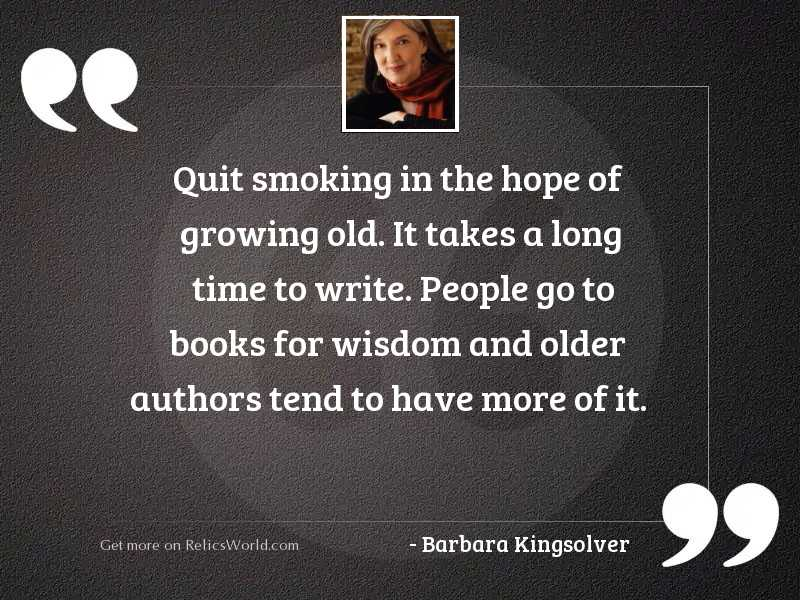 Quit smoking in the hope