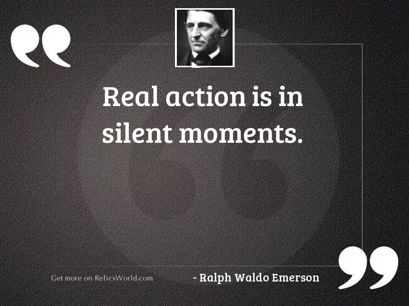 Real action is in silent