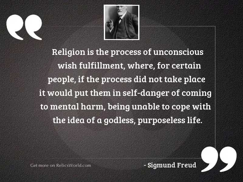 Religion is the process of