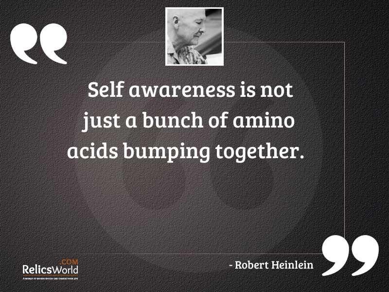 Self awareness is NOT just