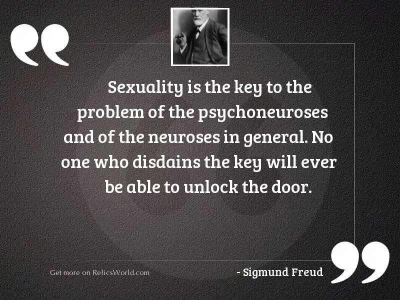 Sexuality is the key to