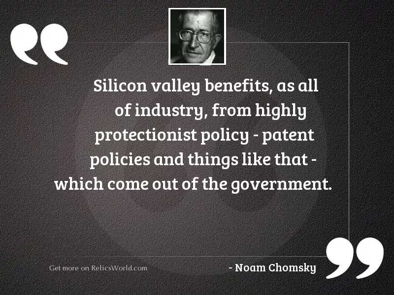Silicon Valley benefits, as all