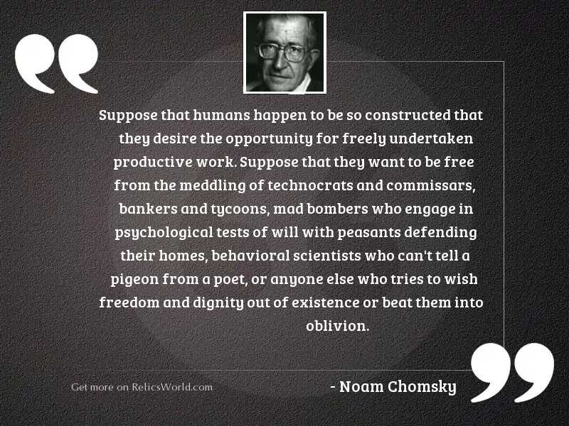 Suppose that humans happen to