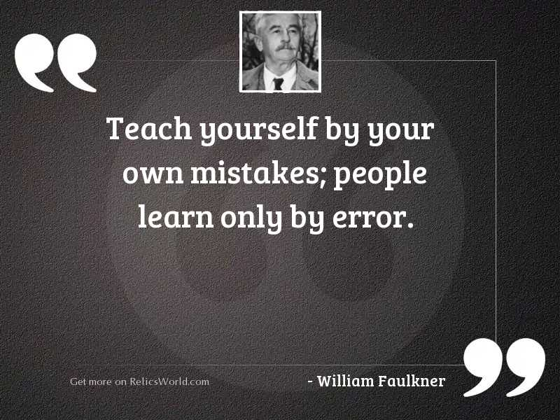 Teach yourself by your own