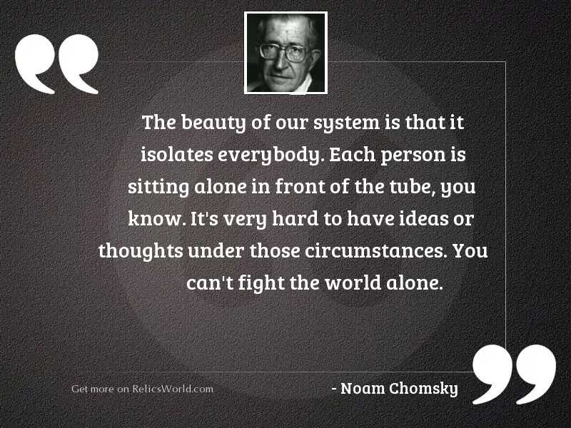 The beauty of our system