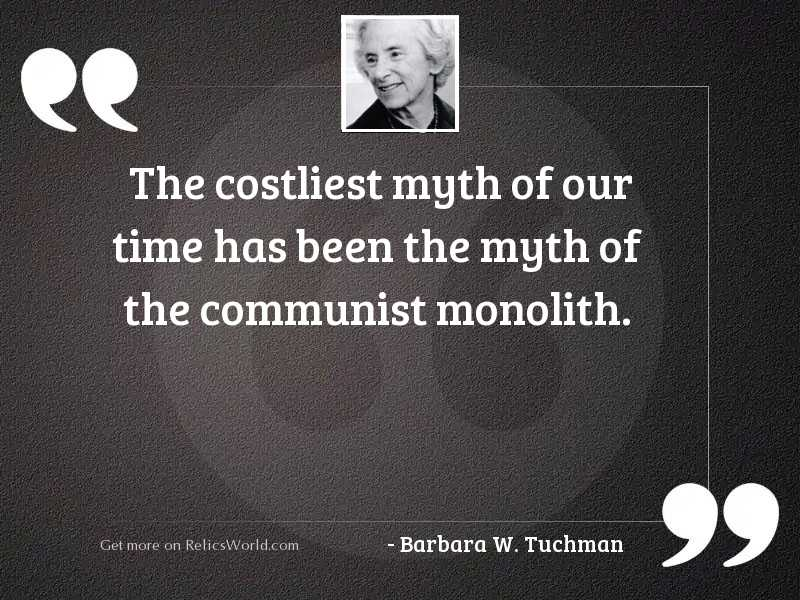 The costliest myth of our