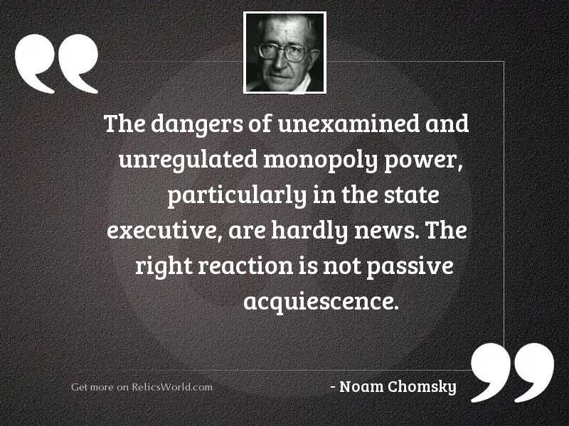 The dangers of unexamined and