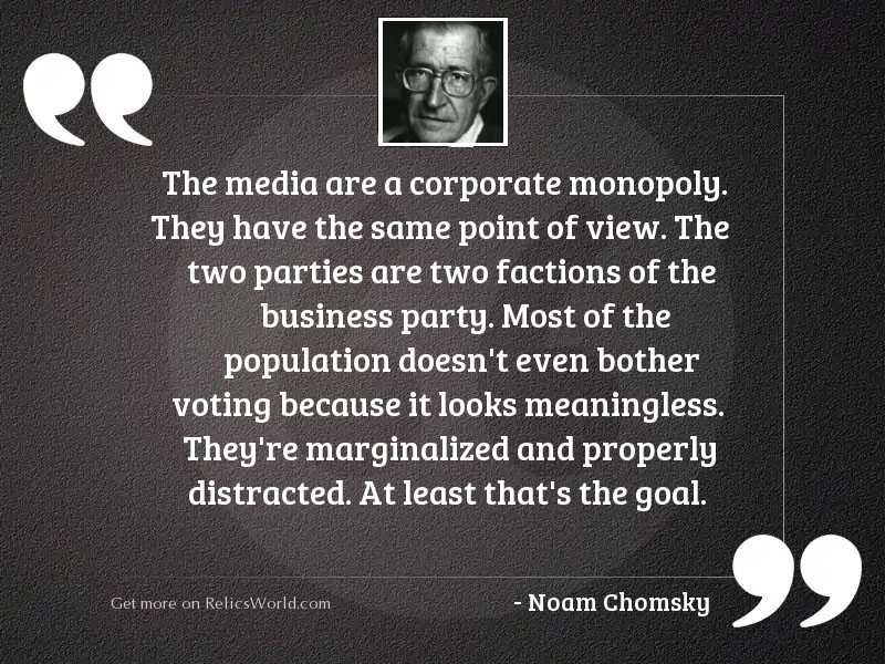 The media are a corporate