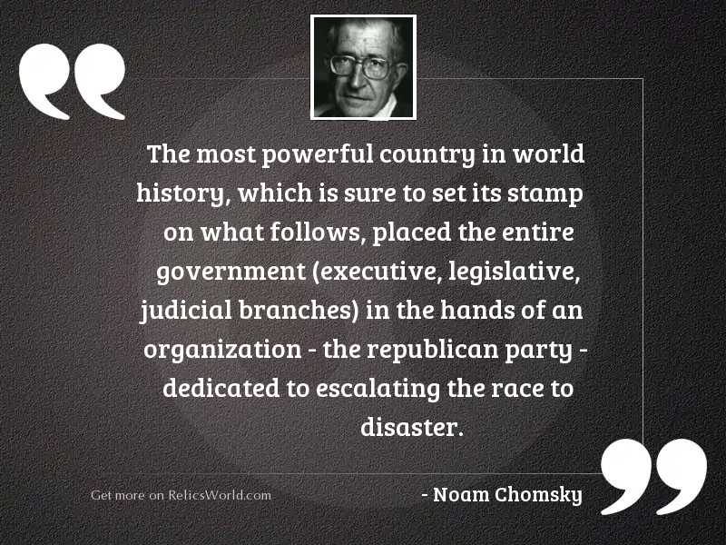 The most powerful country in