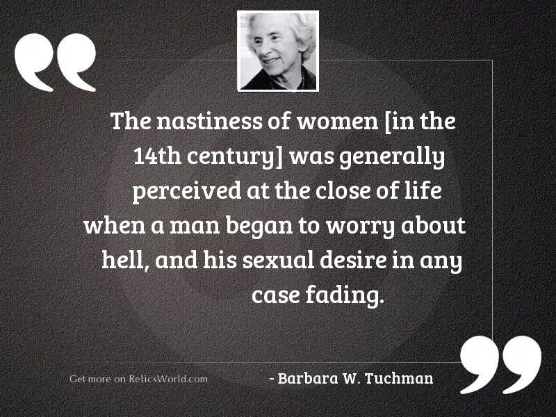 The nastiness of women in