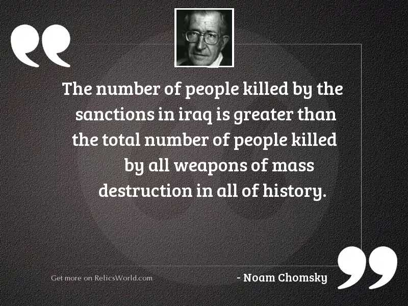 The number of people killed