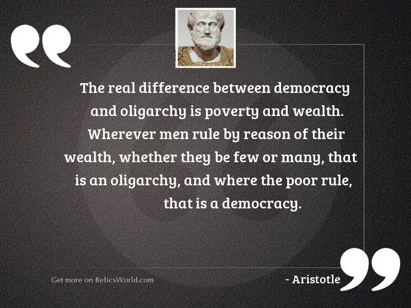 The real difference between democracy