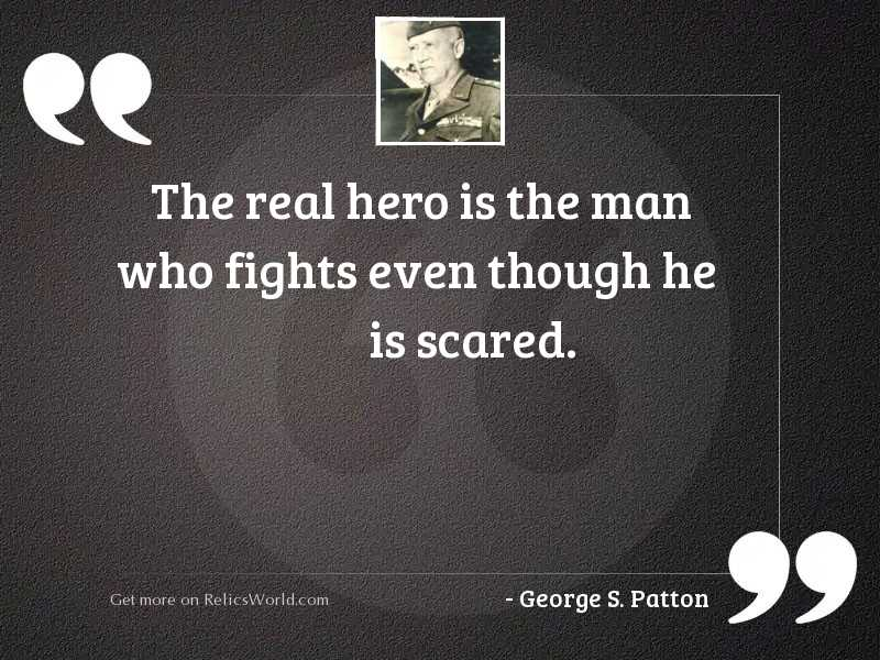 The real hero is the