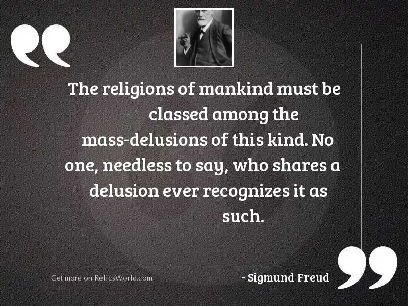 The religions of mankind must