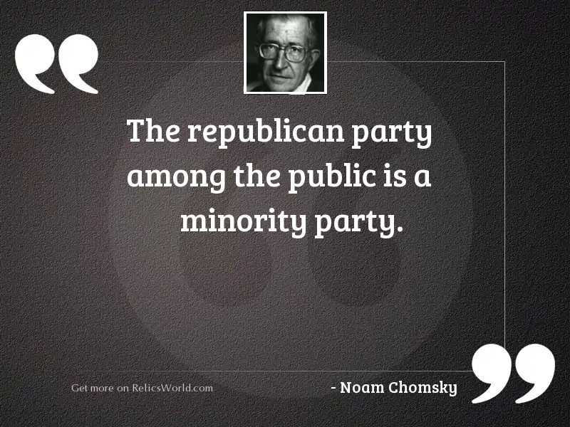 The Republican Party among the