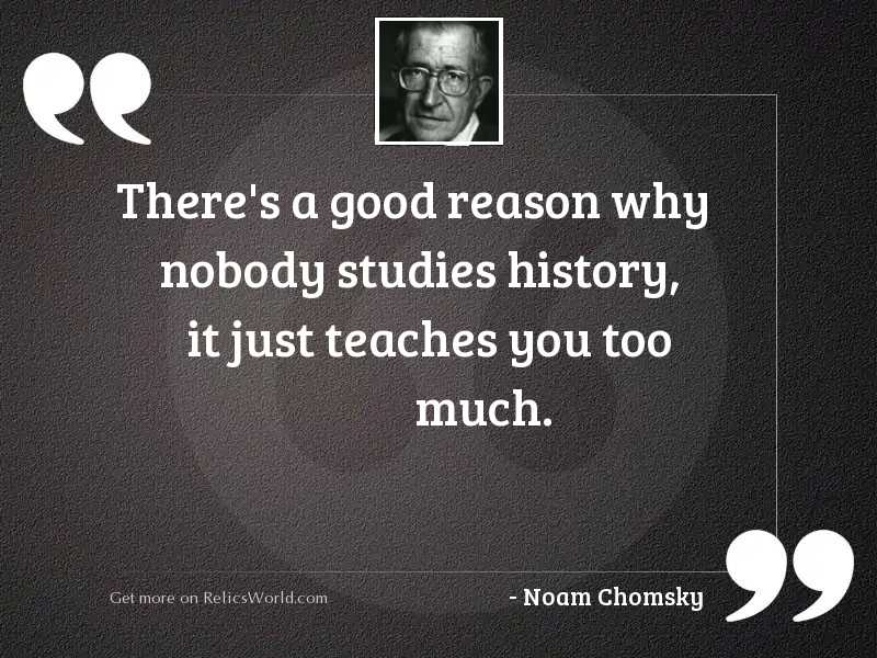 There's a good reason