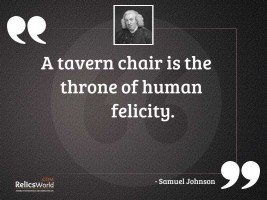 A tavern chair is the