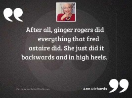 Ann Richards Quotes Former Governor Of Texas 1933 2006