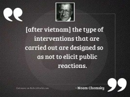 after vietnam the type of