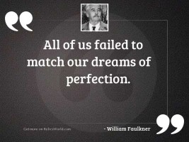 All of us failed to