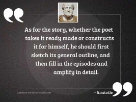 As for the story, whether