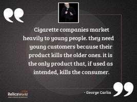 Cigarette companies market heavily to
