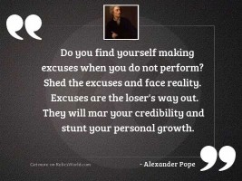 Do you find yourself making
