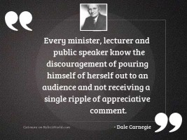 Every minister, lecturer and public