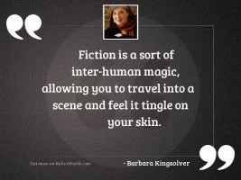 Fiction is a sort of
