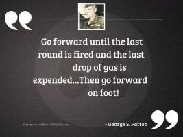 Go forward until the last