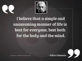 I believe that a simple