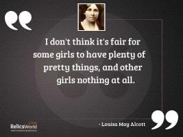 I dont think its fair