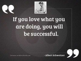 If you love what you