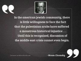 In the American Jewish community,