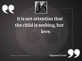 It is not attention that
