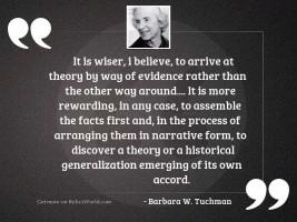 It is wiser I believe