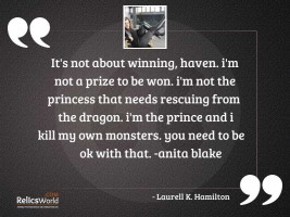 Its not about winning Haven