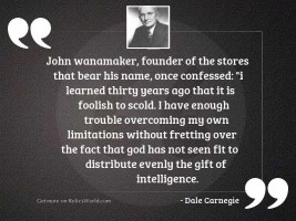 John Wanamaker, founder of the