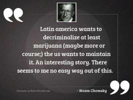 Latin America wants to decriminalize