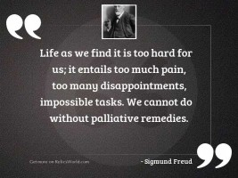 Life as we find it