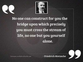 No one can construct for